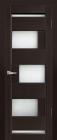 Модена ДО Венге. Тип двери: остекленная.Каркас: массив ольхи.