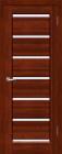 Премьер Плюс ЧО Махагон. Тип двери: частично остекленная.
