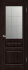 Венеция ДО Венге. Тип двери: остекленная с рисунком.