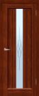 Версаль ДО Махагон. Тип двери: остекленная.