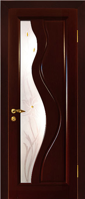 межкомнатные двери из шпона