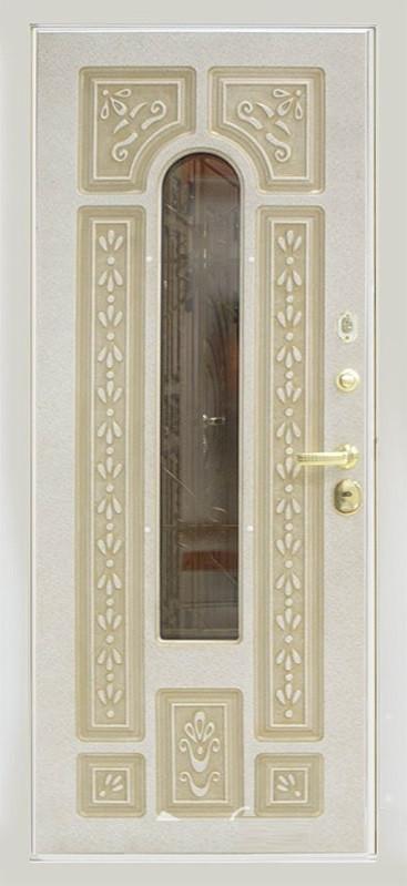 Входная дверь ЮрСталь Лацио Белая