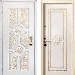 Входная дверь ЮрСталь Версаче премиум