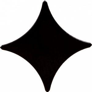 Вставка Stella black border 02 11х11