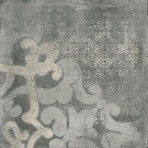 Cemento Темно-серый Печатный Декор